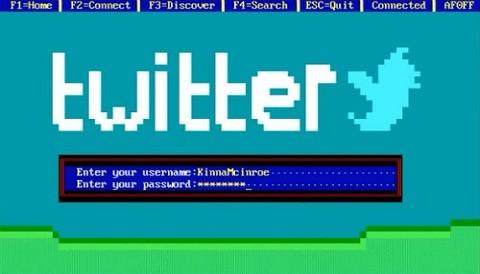 Así serían Twitter y Facebook en los ochenta (Video)