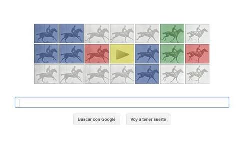 Google dedica un doodle al precursor del cine, Eadweard Muybridge