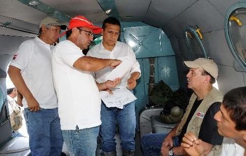 Poder ejecutivo declara estado de emergencia en 14 distritos de Loreto y Moquegua