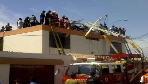 Helicóptero no originó daños materiales en vivienda del Callao