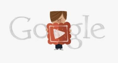 Video: Google publicó un doodle romántico por San Valentín