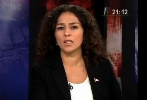 Congresista Cecilia Chacón no pensó que el golpe en la cabeza fuera tan grave