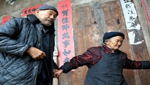 China: Pareja cumple 90 años de casados