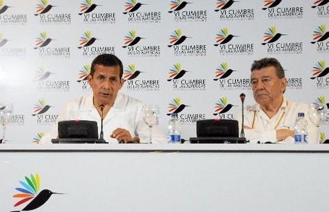 Ollanta Humala: 'No le daremos ni un milímetro de ventaja a los terroristas'