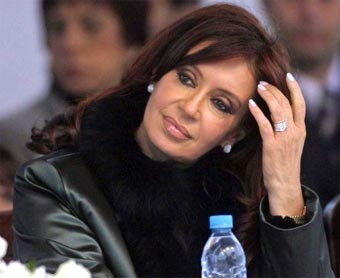 Cristina Fernández: 'Argentina respetará las desiciones de España'