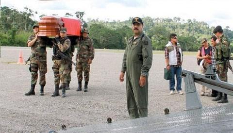 Satipo: Piloto de helicóptero murió en accidente durante operativo policial antidrogas