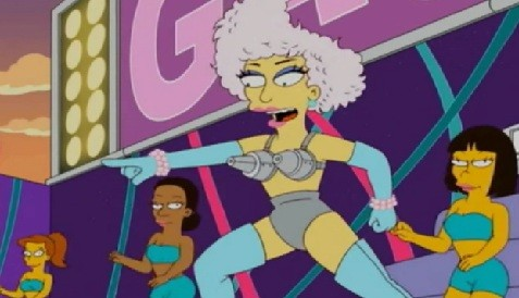 Lady Gaga aparecerá en Los Simpson (Video)