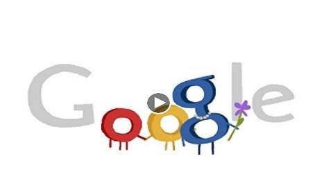 Google agasaja a las madres por su día con colorido doodle