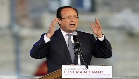 Avión que trasladaba a François Hollande fue impactado por un rayo