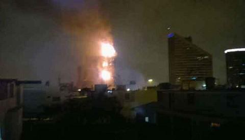 Incendio en edificio Wiesse fue ocasionado por cortocircuito