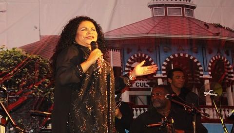 Eva Ayllón y Camaguey en el Gran Concierto Estelar en San Miguel
