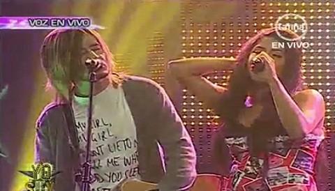 [VIDEO]: Imitadores de Kurt Cobain y Amy Winehouse interpretaron 'Yesterday'