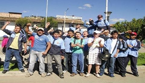 Cajamarca: opositores a Conga utilizan niños en sus protestas