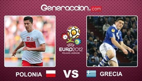 Eurocopa 2012: Polonia igualó 1-1 con Grecia en el partido inaugural
