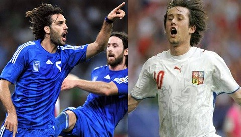 Eurocopa 2012: Conozca las alineaciones del partido entre Grecia y Repblica Checa