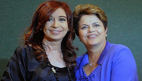 G20: Cristina Fernández sostuvo encuentro con Dilma Rousseff