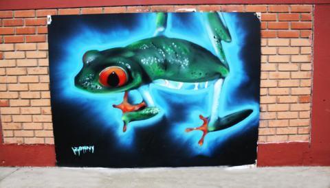 Primer Concurso de Graffitis en San Miguel: Una mirada al arte urbano