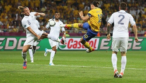 [VIDEO] Vea los mejores goles de la fase de grupos de la Eurocopa 2012