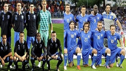 Eurocopa 2012: Conozca las alineaciones del encuentro entre Inglaterra vs. Italia