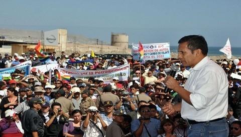 Presidente Humala por opositores de Conga: hay gente ideologizada