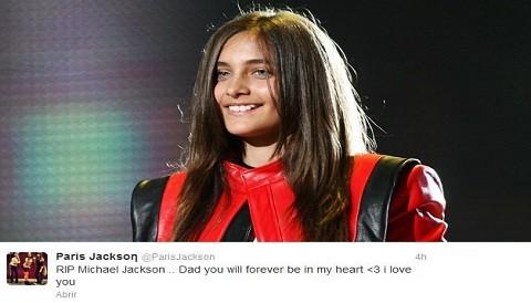 """Hija de Michael Jackson: """"Estarás por siempre en mi corazón papá"""""""