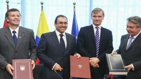Gobierno peruano firmó Tratado de Libre Comercio con la Unión Europea