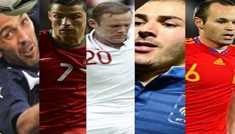 [VIDEO] Eurocopa 2012: Disfrute de los mejores goles de los cuartos de final
