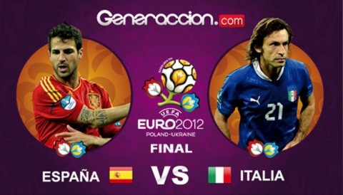 Eurocopa 2012: España e Italia juegan una final con historia