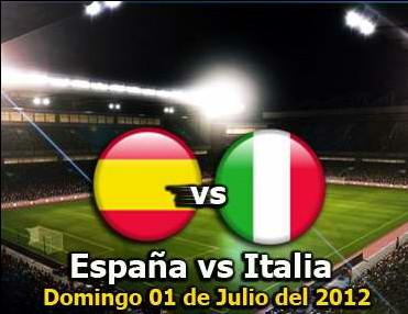 España e Italia, la gloria o nada en esta final de la Eurocopa 2012