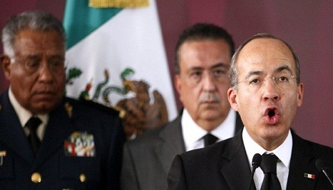 Elecciones en Mxico: Presidente Felipe Caldern felicit a los mexicanos votantes