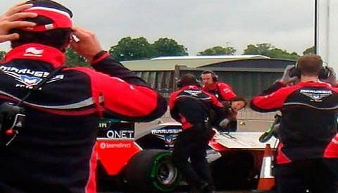 Probadora de la Fórmula 1 sufre grave accidente en los entrenamientos