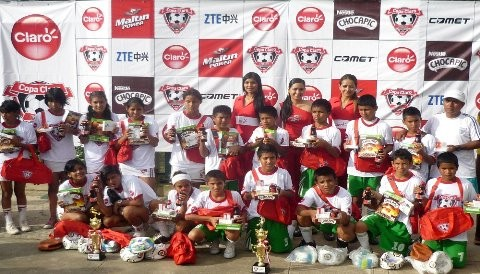 COPA CLARO se jug por tercer ao consecutivo en la ciudad de Iquitos
