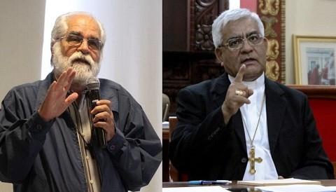 Sacerdotes Cabrejos y Garatea arribaron a Cajamarca para iniciar el diálogo con autoridades