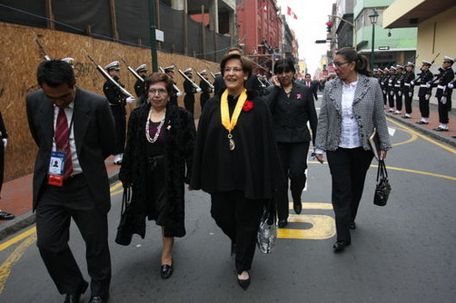 Susana Villarán: 'La Ley dice que todos somos iguales'