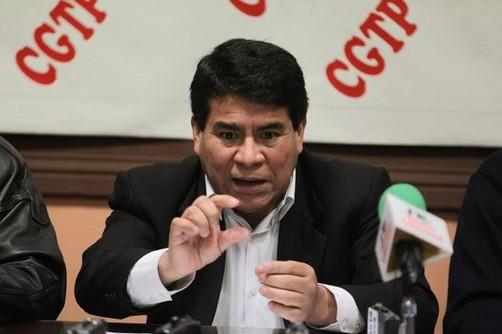 CGTP: Cambio de constitución aún está pendiente