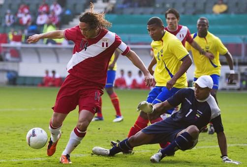 Perú no pudo frente a Ecuador en Quito y cayó por 2 a 0