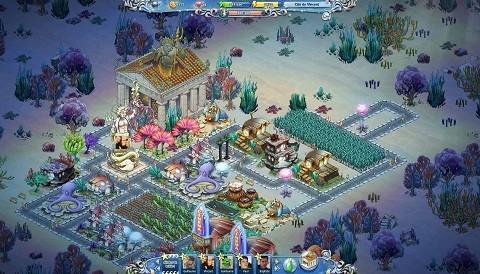 Atlantis Fantasy, el nuevo juego social de Kobojo en Facebook