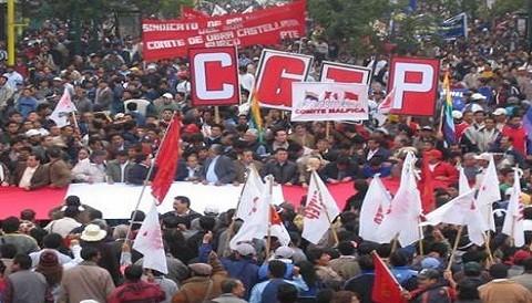 Marcha de la CGTP culminó en enfrentamientos con la Policía