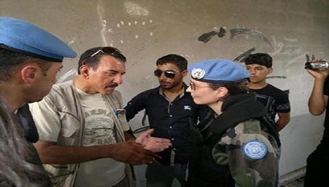 Siria: Observadores de la ONU viajan a la zona atacada por el ejécito local