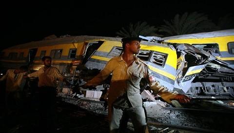 Egipto: Accidente ferroviario deja varios muertos en El Cairo