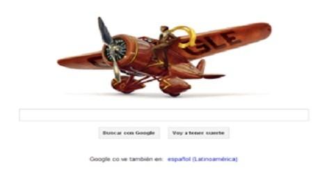 Google lanza doodle por el nacimiento de Amelia Earhat