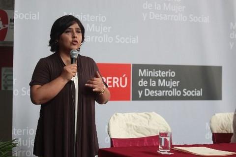 Ministra de la Mujer destaca presencia de mujeres en Gabinete Ministerial