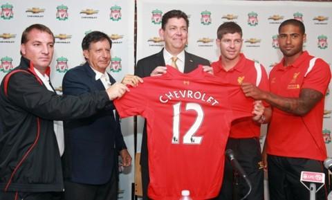 Chevrolet será el socio oficial del Liverpool FC