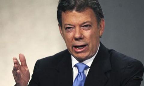 Colombia: popularidad de Juan Manuel Santos cae hasta el 47%