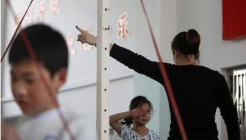 [FOTOS] Gimnasio en China entrena dolorosamente a sus atletas olímpicos