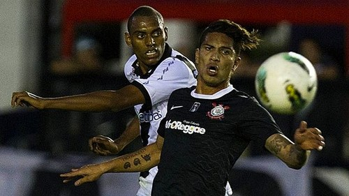 Jugó Paolo Guerrero: Corinthians igualó 0-0 con Vasco Da Gama