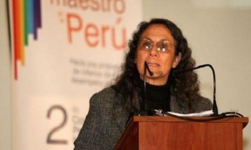 Ministra de Educación: Sendero Luminoso está detrás de huelga de maestros