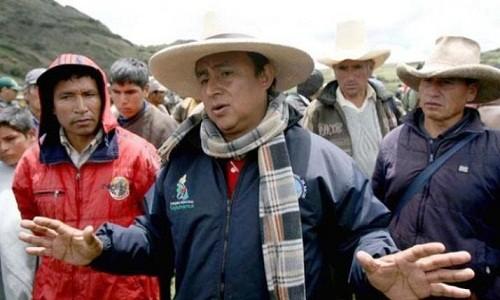 Gregorio Santos: soy un chivo expiatorio del Gobierno