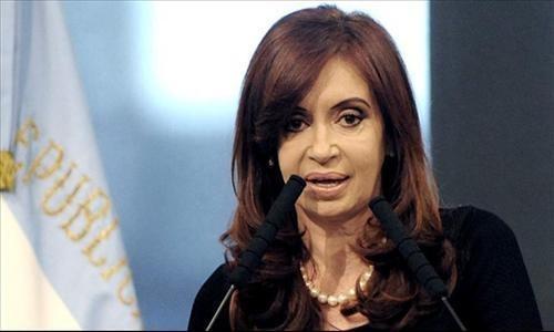 Argentina: popularidad de presidenta Fernández cae hasta el 30%