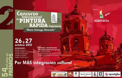 [Cajamarca] Concurso Internacional de Pintura Rápida - 2012